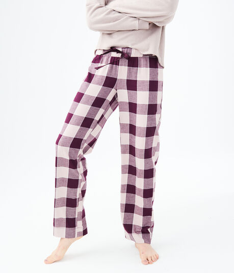 LLD Buffalo Plaid Flannel Sleep Pants