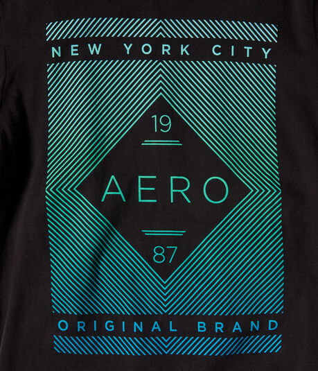 19 Aero 87 Linear Logo Graphic Tee