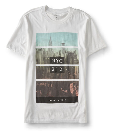 NYC Never Sleeps Graphic Tee