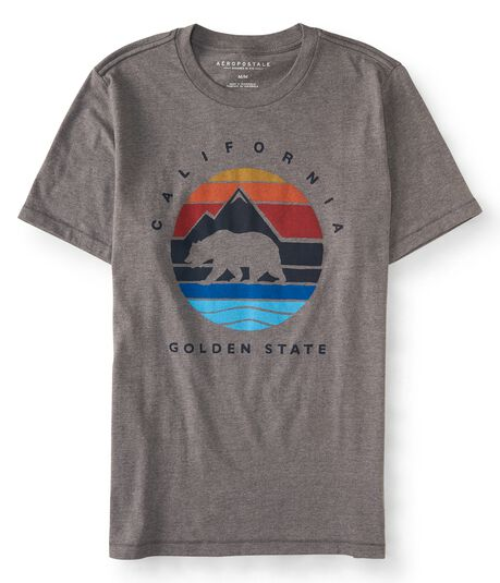 California Mountain Bear Graphic Tee***