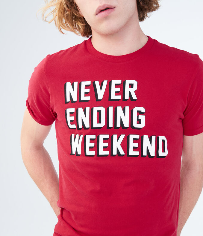 Never Ending Weekend Graphic Tee