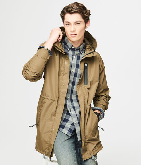 Hooded Active Parka