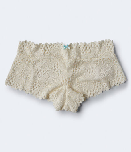 Solid Lace Boyshort