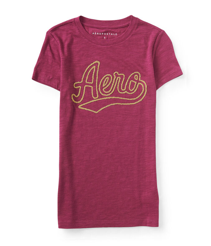 Final Sale -Beaded Aero Graphic Tee