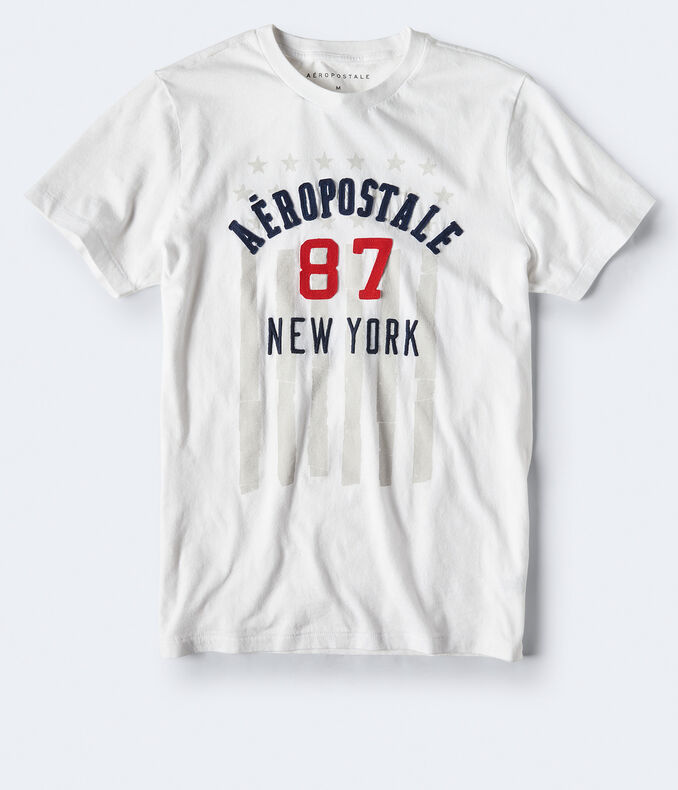 Aeropostale 87 Flag Graphic Tee by Aeropostale