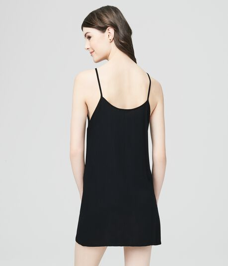 Solid Slip Dress