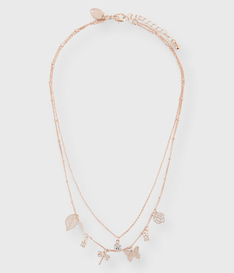 Butterfly Choker Short-Strand Necklace