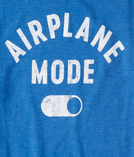 Airplane Mode Graphic Tee
