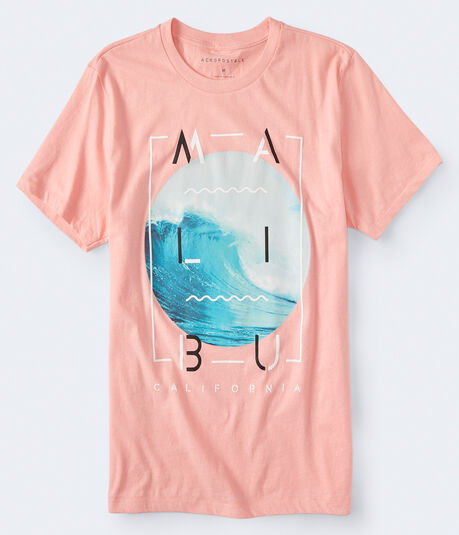Malibu Wave Graphic Tee