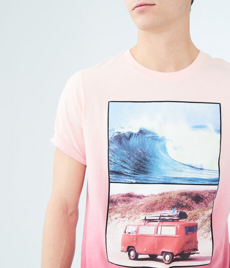 Surf Van Ombre Graphic Tee