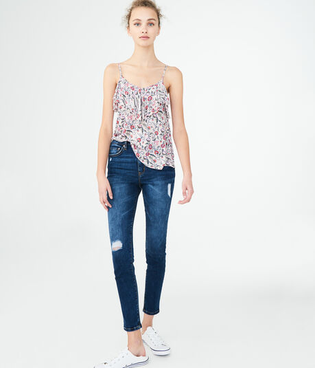 Floral Ruffle Cami