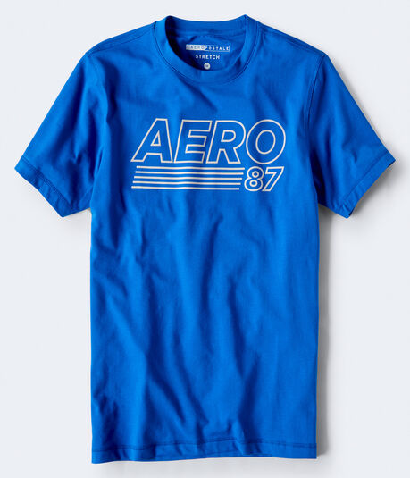 Aero 87 Stretch Graphic Tee