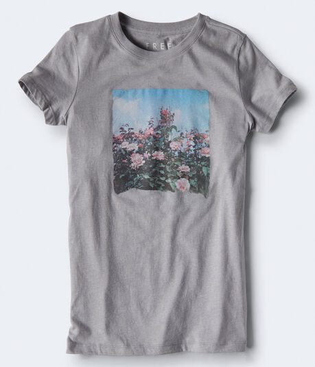 Free State Floral Landscape Graphic Tee