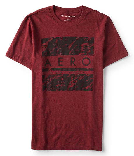 Marbled Aero Logo Graphic Tee