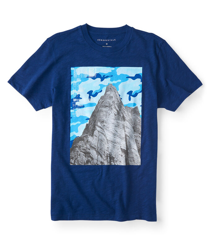 Camo Mountain Graphic Tee