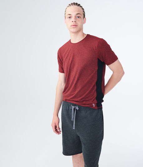 Colorblocked Side Stretch Tee