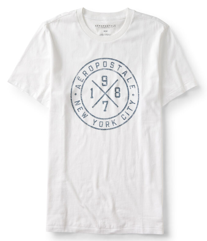 1987 Circle Cross Logo Graphic Tee