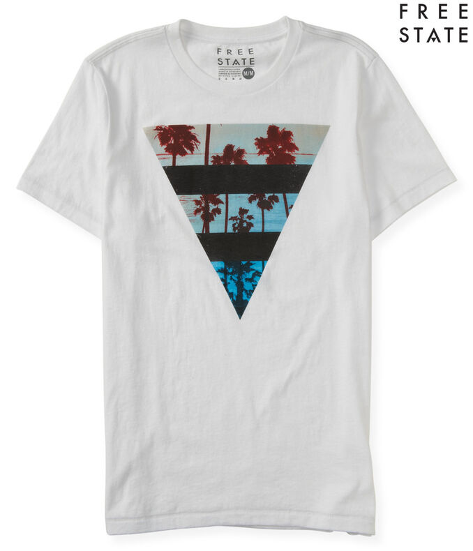Free State Paradise Triangle Graphic Tee***