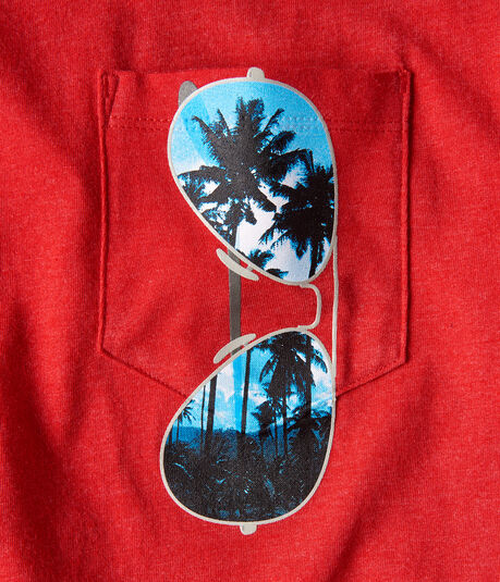 Sunglasses Pocket Graphic Tee
