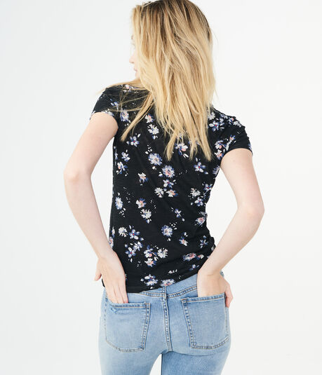 Floral Aero NYC Graphic Tee