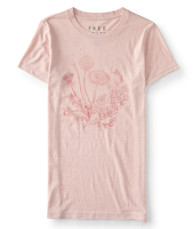 Final Sale -Free State Floral Bouquet Graphic Tee