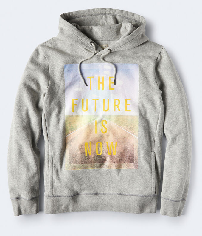 The Future Is Now Pullover Hoodie