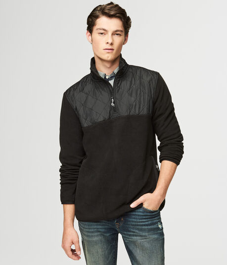 Polyfleece Quarter-Zip Pullover Jacket