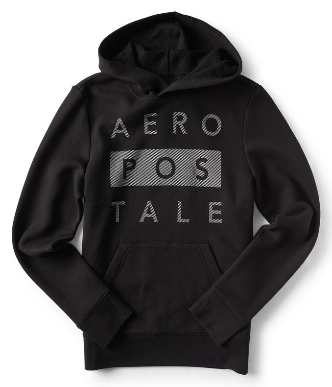 Stacked Aéropostale Pullover Hoodie