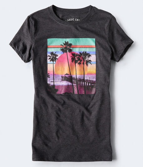 Beach Sunset Graphic Tee