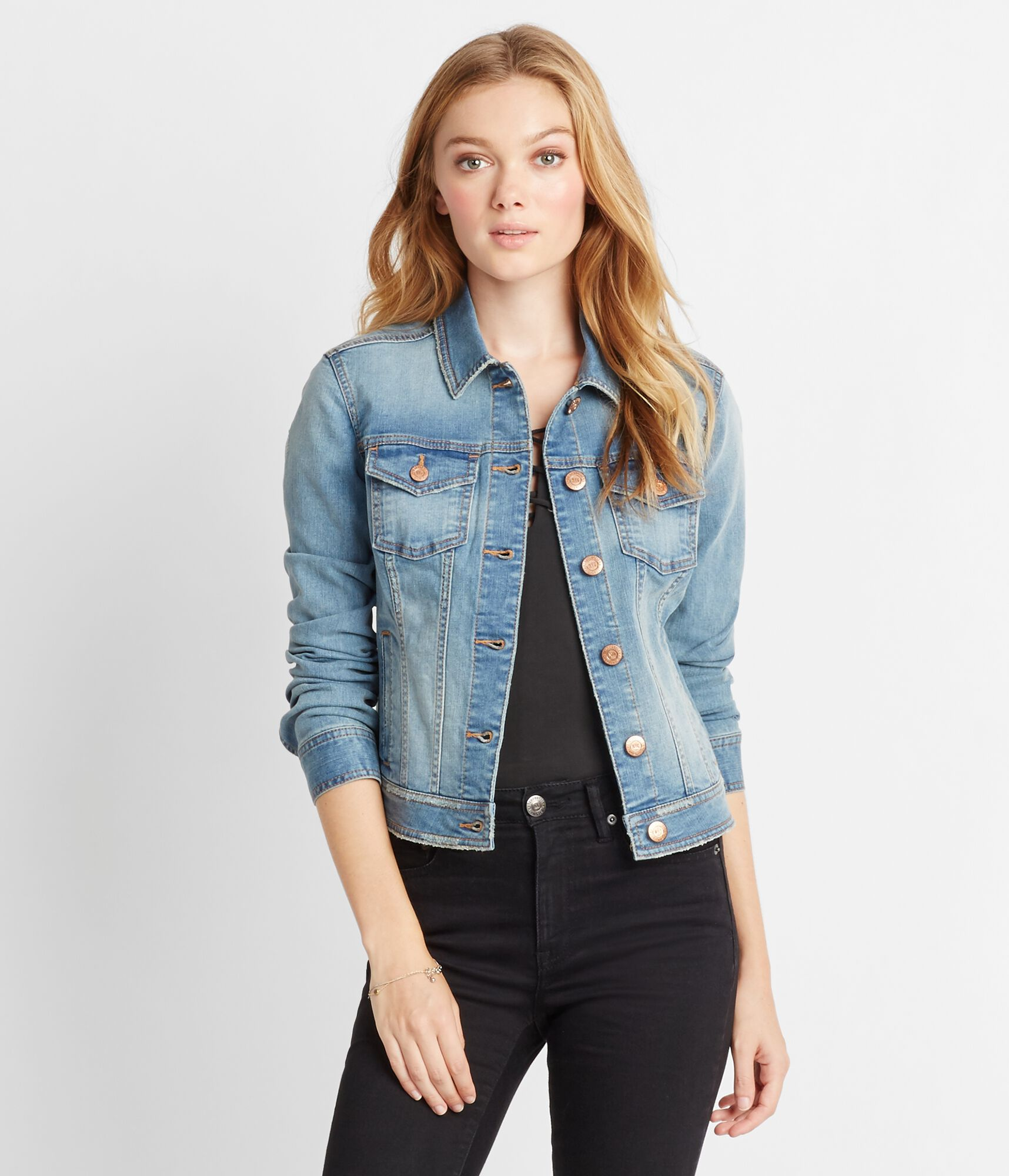 Light Denim Jacket for Teen Girls & Women | Aeropostale