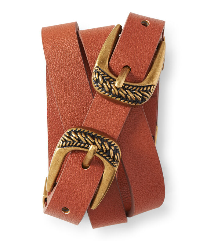 Double Buckle Belt | Tuggl