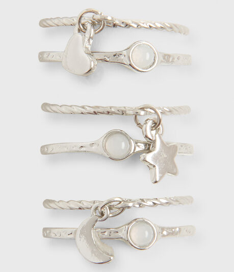 Charm Ring 6-Pack