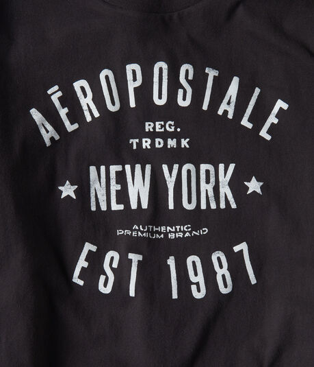 New York Established Logo Graphic Tee