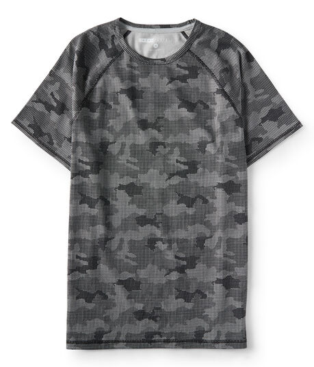 Camo Raglan Stretch Tee