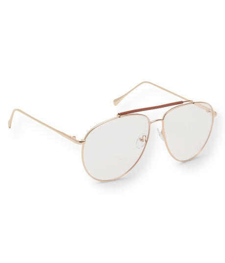 Clear Aviator Reader Glasses