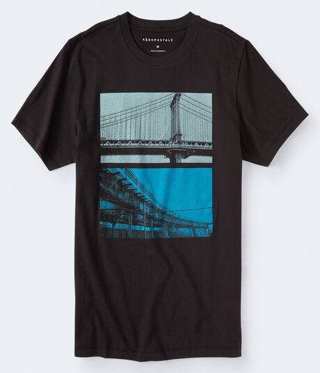 City Bridge Graphic Tee***