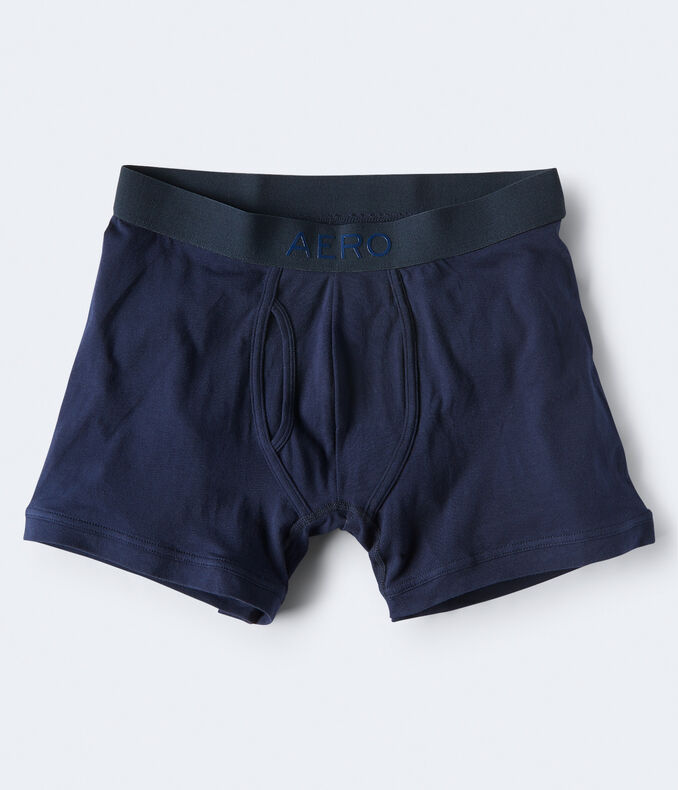 Solid Logo Reflex Knit Boxer Briefs