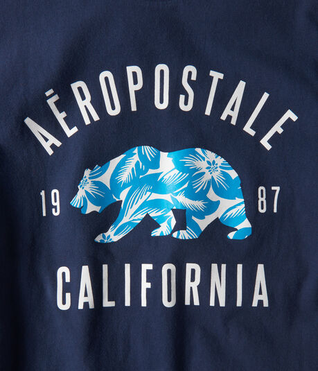 Aeropostale California Bear Graphic Tee***
