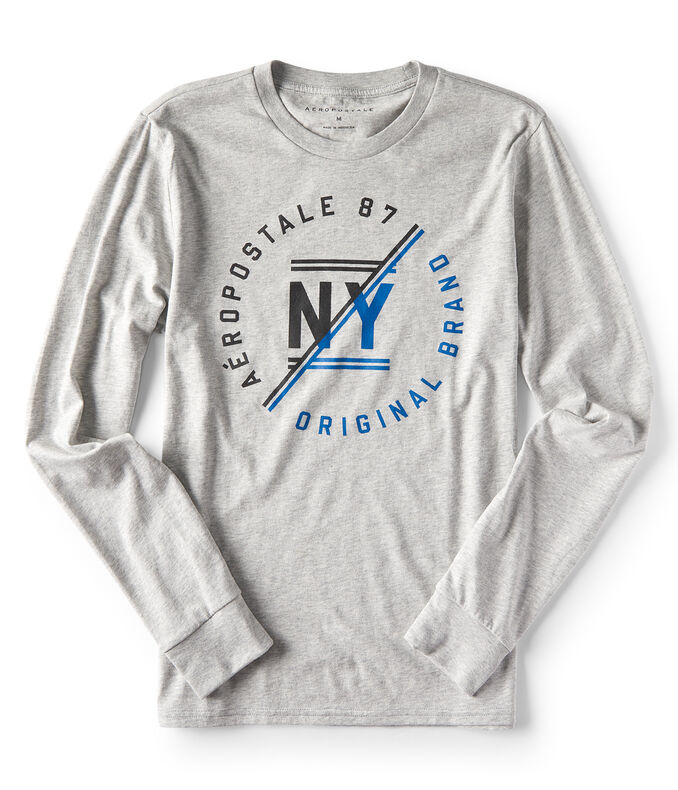 Long Sleeve NY Original Brand Graphic Tee