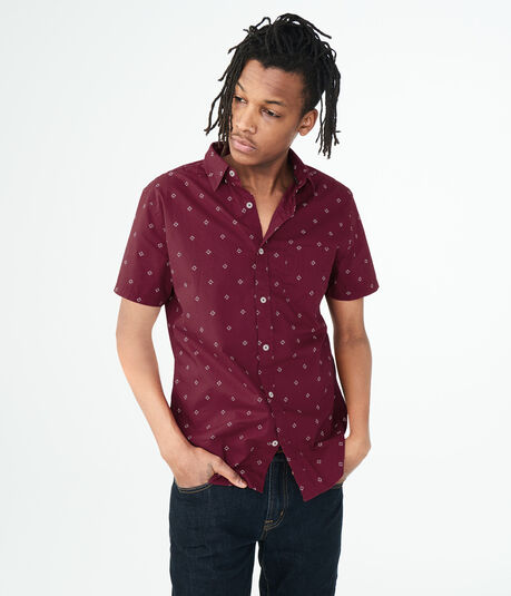 Diamond Dot Woven Shirt