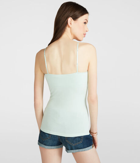 Solid Shelf Bra Cami