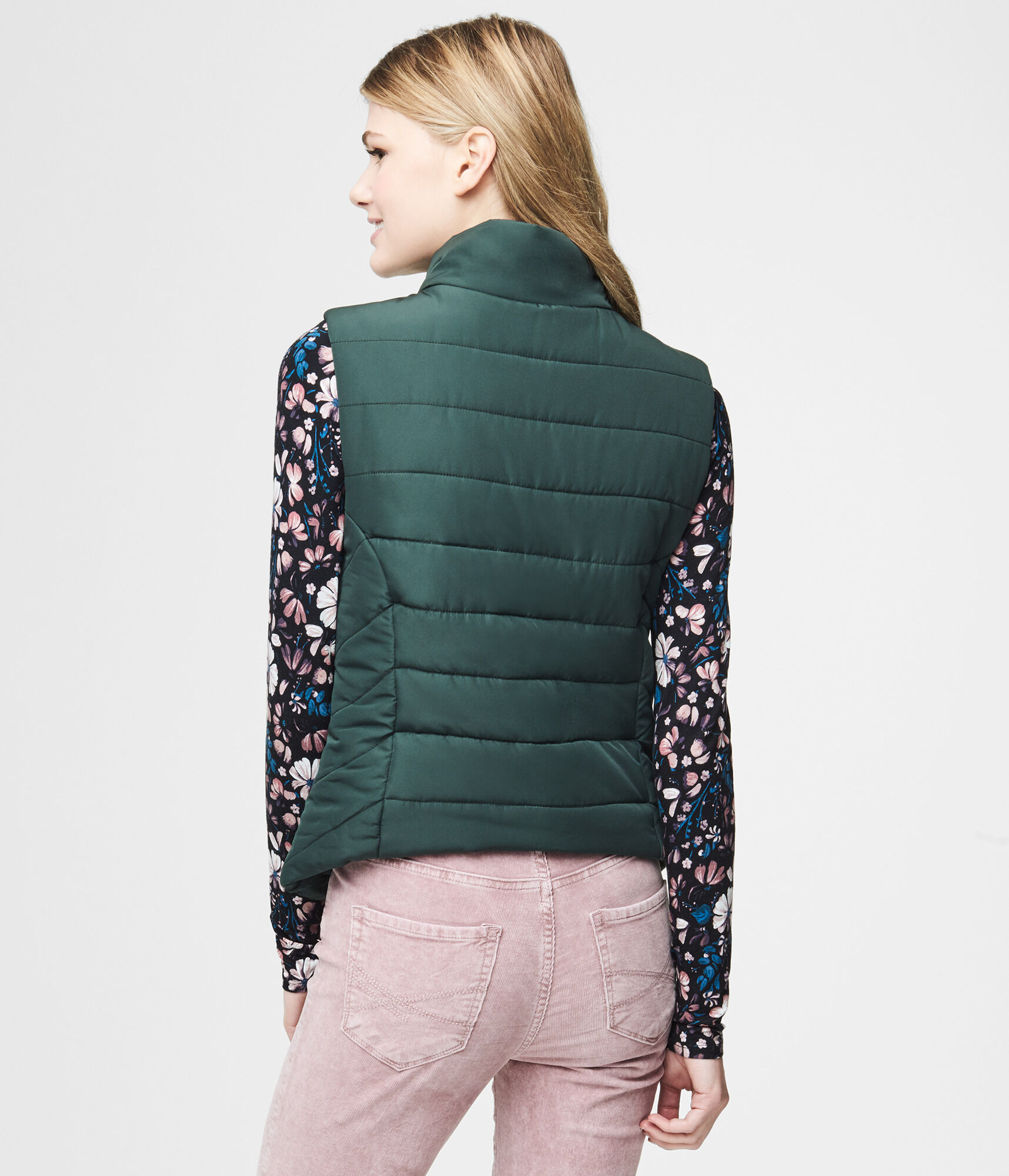 black pepper quilted quilt vest neve