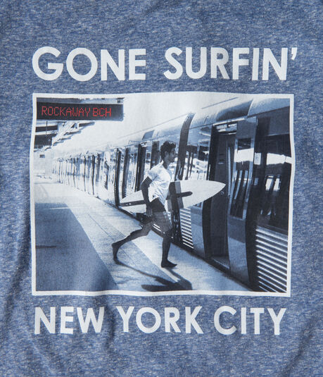 Surfing Subway Graphic Tee