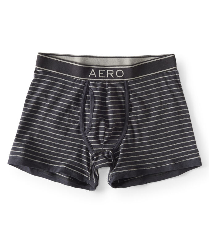 Aero Thin Stripe Knit Boxer Briefs