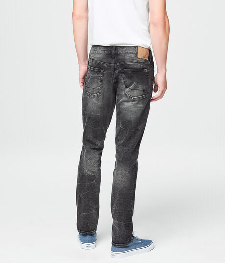 Super Skinny Dark Grey Wash Reflex Jean