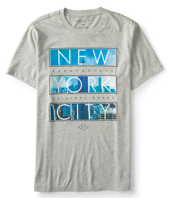 New York City Block Imagery Graphic Tee***