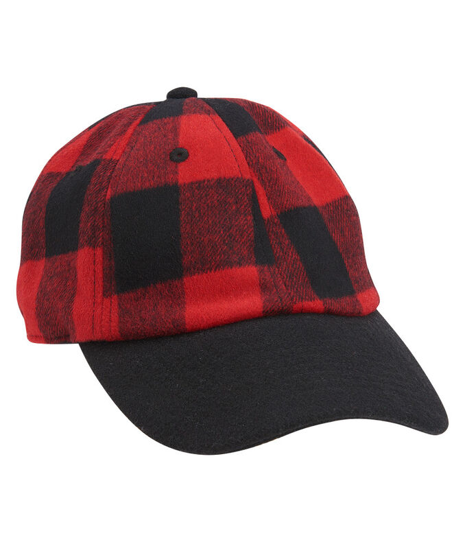 Plaid Adjustable Hat