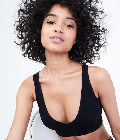 LLD Seamless Ribbed Reversible Bralette