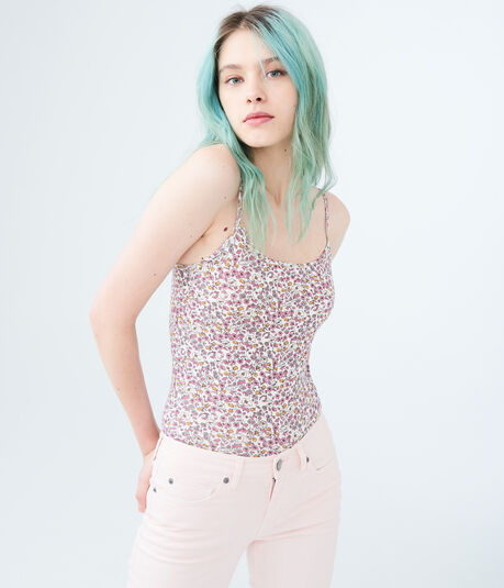 Flower Field Basic Cami