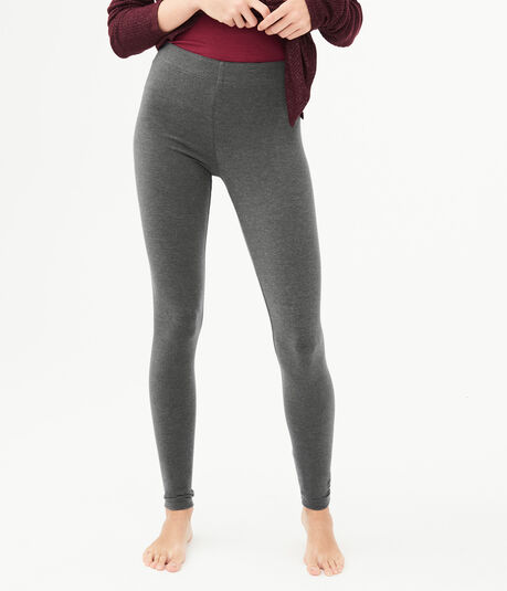 Solid High-Waisted Leggings